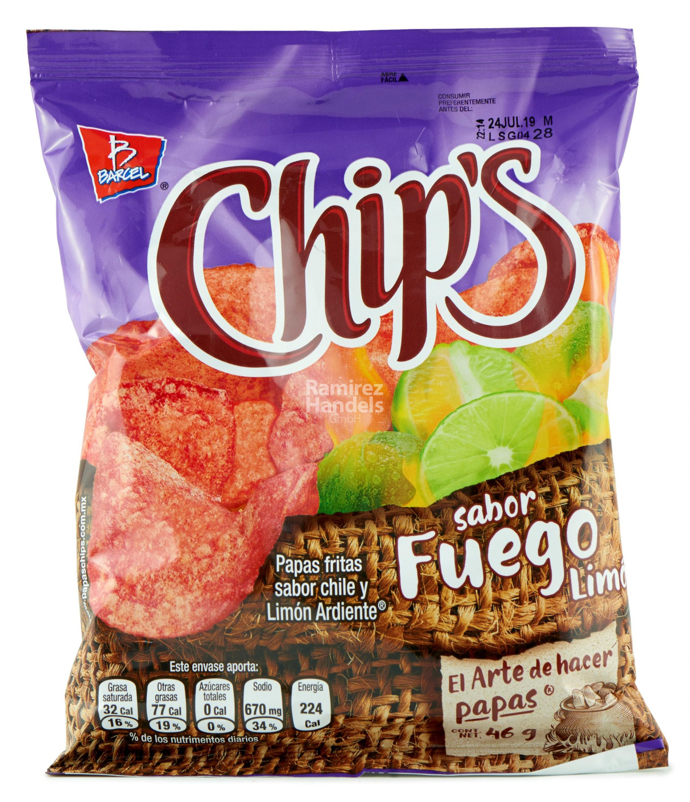 Chips-Fuego-46g