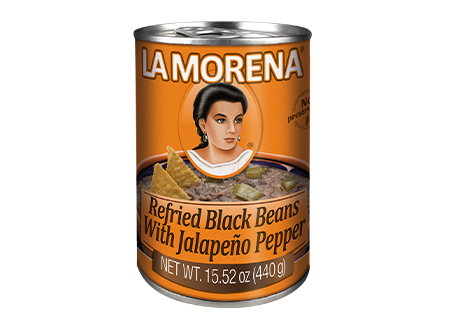 LaMorena-refried-black-beans-with-jalapenio-peppers